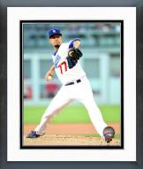 Los Angeles Dodgers Carlos Frias Action Framed Photo