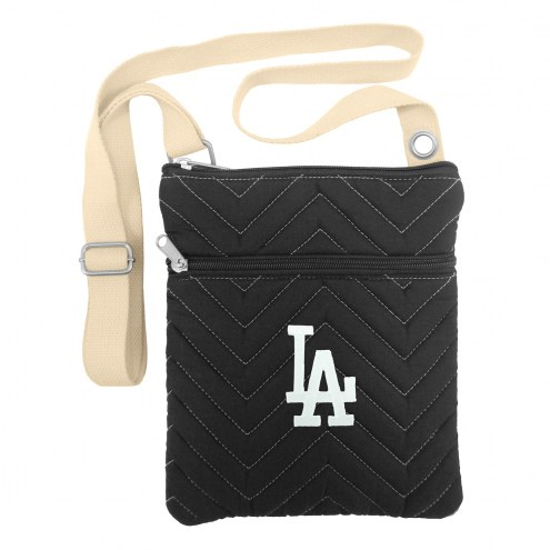 Los Angeles Dodgers Chevron Stitch Crossbody Bag