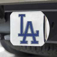 Los Angeles Dodgers Chrome Color Hitch Cover
