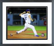 Los Angeles Dodgers Clayton Kershaw Action Framed Photo