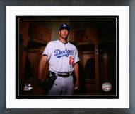 Los Angeles Dodgers Clayton Kershaw Posed Framed Photo