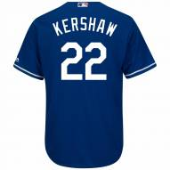 Los Angeles Dodgers Clayton Kershaw Replica Royal Alternate Baseball Jersey