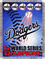Los Angeles Dodgers Commemorative Throw Blanket