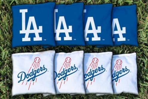Los Angeles Dodgers Cornhole Bag Set