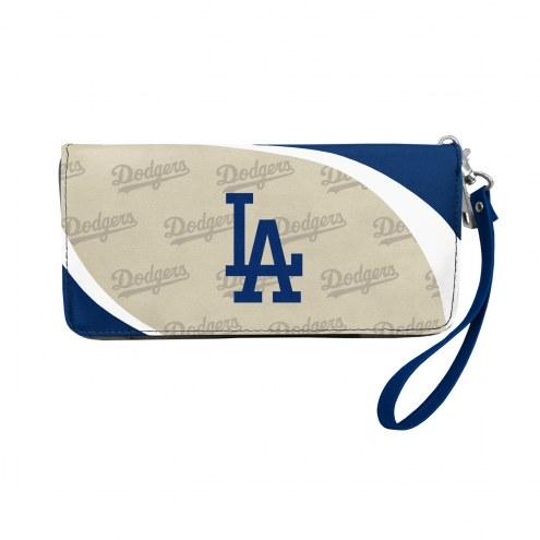 Los Angeles Dodgers Curve Zip Organizer Wallet