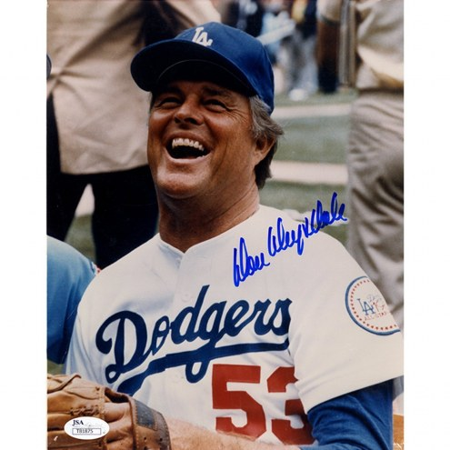 Los Angeles Dodgers Don Drysdale Signed Laughing 8 x 10 Photo