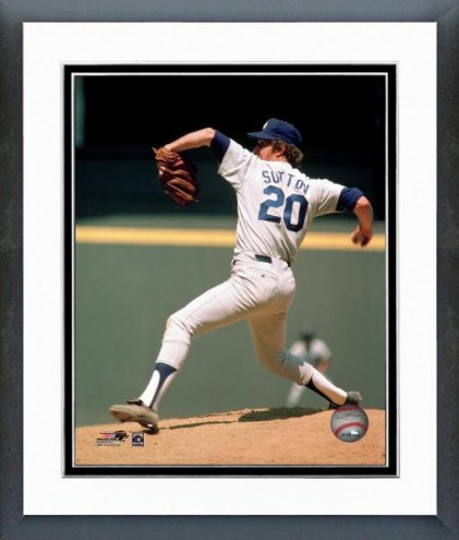 Los Angeles Dodgers Don Sutton Action Framed Photo