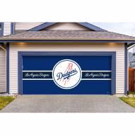 Los Angeles Dodgers Double Garage Door Cover