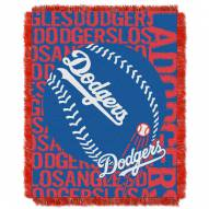 Los Angeles Dodgers Double Play Jacquard Throw Blanket