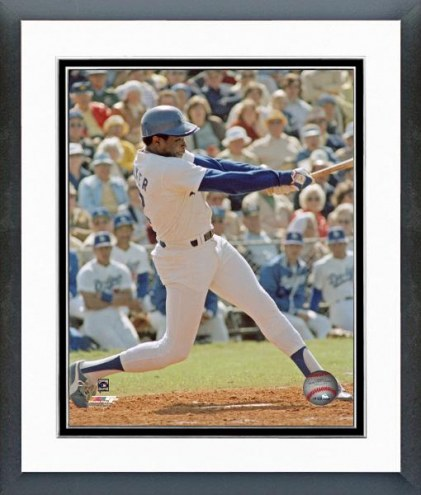 Los Angeles Dodgers Dusty Baker Framed Photo