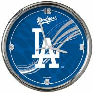Los Angeles Dodgers Dynamic Chrome Clock