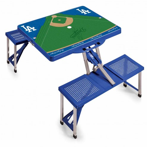 Los Angeles Dodgers Folding Picnic Table - Picnic table los angeles