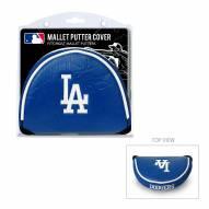 Los Angeles Dodgers Golf Mallet Putter Cover