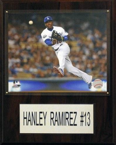 "Los Angeles Dodgers Hanley Ramirez 12"" x 15"" Player Plaque"