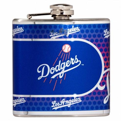 Los Angeles Dodgers Hi-Def Stainless Steel Flask