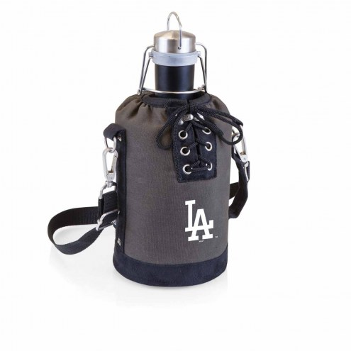Los Angeles Dodgers Insulated Growler Tote with 64 oz. Stainless Steel Growler