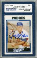 Los Angeles Dodgers Johnny Podres Signed 2005 Topps Card