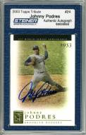 Los Angeles Dodgers Johnny Podres Signed 2003 Topps Card