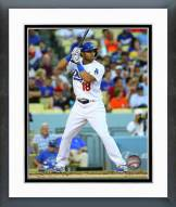 Los Angeles Dodgers Jose Peraza Action Framed Photo