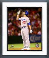 Los Angeles Dodgers Justin Ruggiano Action Framed Photo