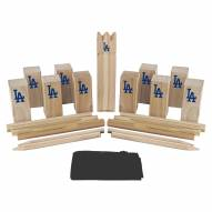 Los Angeles Dodgers Kubb Viking Chess