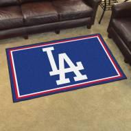 """Los Angeles Dodgers """"LA"""" 4' x 6' Area Rug"""