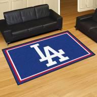 """Los Angeles Dodgers """"LA"""" 5' x 8' Area Rug"""