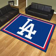 """Los Angeles Dodgers """"LA"""" 8' x 10' Area Rug"""