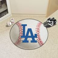 "Los Angeles Dodgers ""LA"" Baseball Rug"