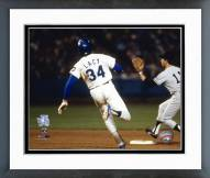 Los Angeles Dodgers Lee Lacy 1978 World Series Action Framed Photo