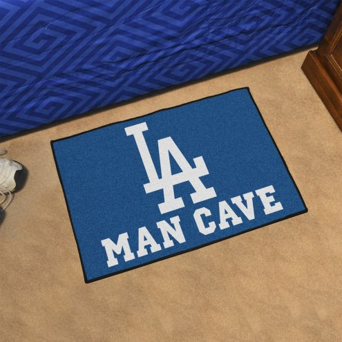 Los Angeles Dodgers Man Cave Starter Mat