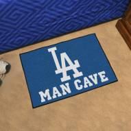 Los Angeles Dodgers Man Cave Starter Mat