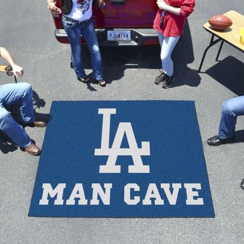 Los Angeles Dodgers Man Cave Tailgate Mat