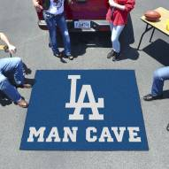 Los Angeles Dodgers Man Cave Tailgate Mat