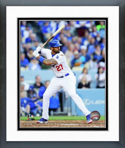 Los Angeles Dodgers Matt Kemp Action Framed Photo