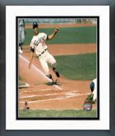 Los Angeles Dodgers Maury Wills Action Framed Photo