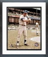 Los Angeles Dodgers Maury Wills Posed Framed Photo