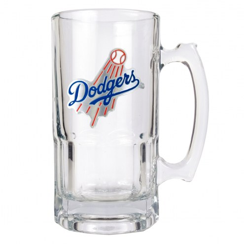 Los Angeles Dodgers MLB 1 Liter Glass Macho Mug