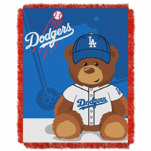 Los Angeles Dodgers MLB Baby Blanket