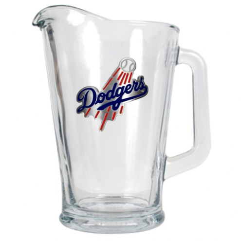 Los Angeles Dodgers MLB 60 Oz. Glass Pitcher
