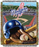 Los Angeles Dodgers MLB Woven Tapestry Throw Blanket