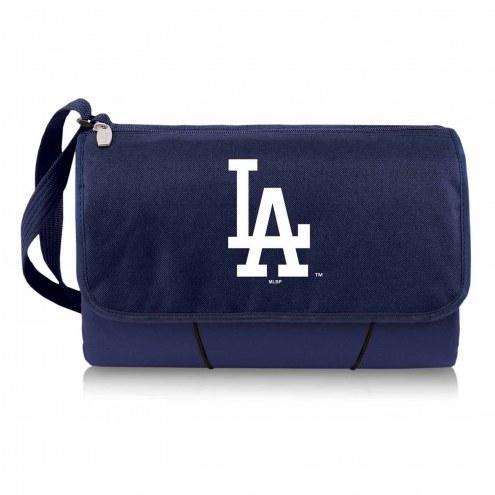 Los Angeles Dodgers Navy Blanket Tote