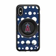 Los Angeles Dodgers OtterBox Symmetry Polka Dot PopSocket iPhone Case