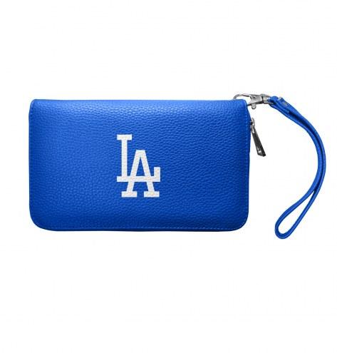 Los Angeles Dodgers Pebble Organizer Wallet