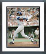 Los Angeles Dodgers Pedro Guerrero Action Framed Photo