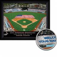 Los Angeles Dodgers Personalized Framed Stadium Print