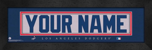 Los Angeles Dodgers Personalized Stitched Jersey Print