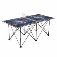 Los Angeles Dodgers Pop Up 6' Ping Pong Table