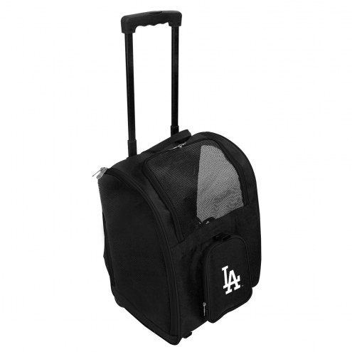 Los Angeles Dodgers Premium Pet Carrier with Wheels