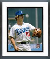 Los Angeles Dodgers Ron Cey at Third Base Framed Photo